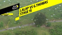 Alaphilippe VS Thomas - Étape 15 / Stage 15 - Tour de France 2019