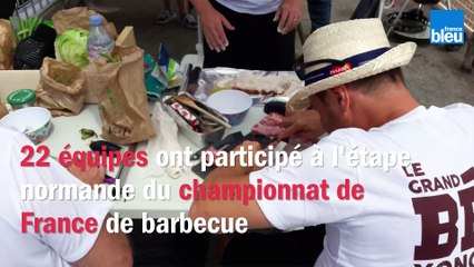 Les as du barbecue sur le grill à Pontorson