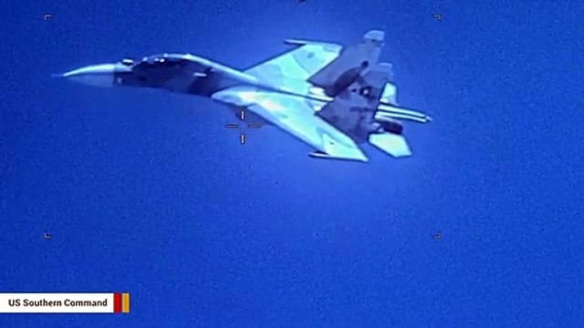 Video: Venezuelan Fighter Jet 'Aggressively Shadowed' A US Aircraft