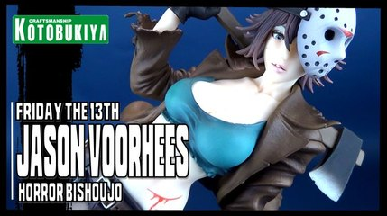 Kotobukiya Horror Bishoujo Friday the 13th Jason Voorhees Statue Review