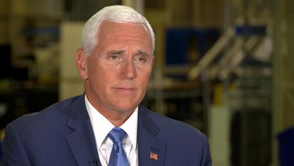 Pence details plans to return to the moon before missions to Mars