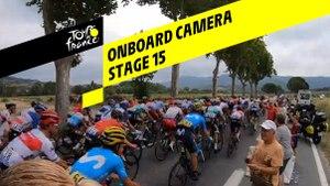 Onboard camera - Étape 15 / Stage 15 - Tour de France 2019