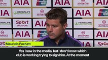 (Subtitled) 'I don't know if we're signing Bale' - Pochettino