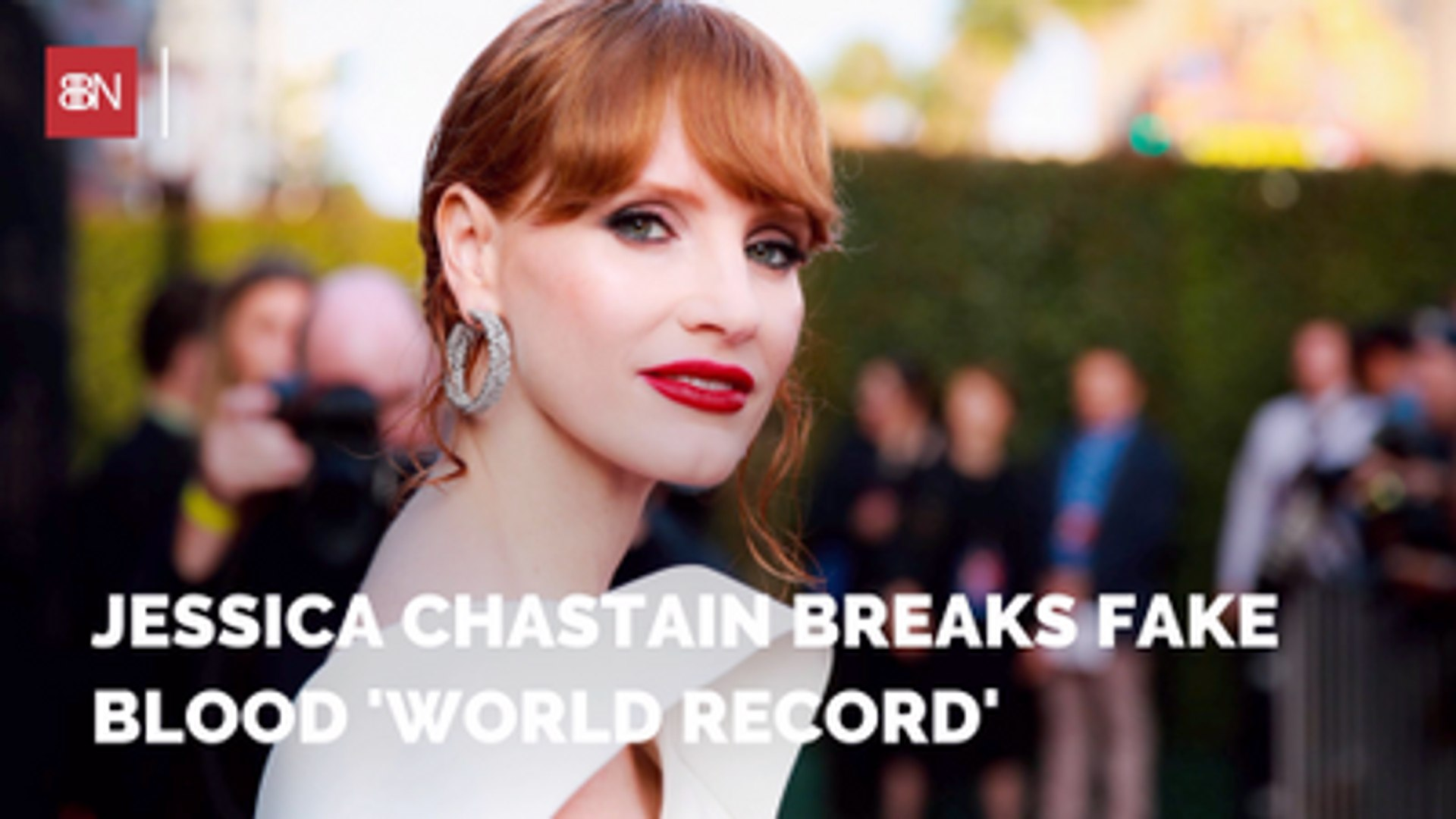 Jessica Chastain Breaks A Record In It Chapter 2 Video Dailymotion