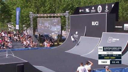 Diako Diaby   1st Final - Roller Freestyle Park   FISE European Series, Châteauroux 2019