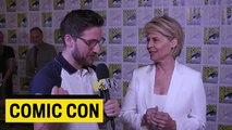 'Terminator' Star Linda Hamilton Does Her Best Arnold Schwarzenegger Impression