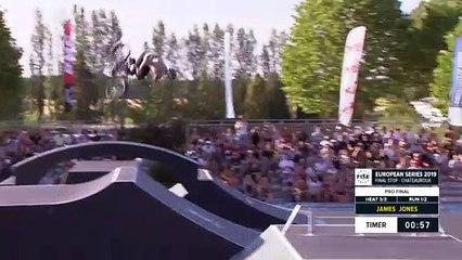 James Jones   1st Final - BMX Freestyle Park   FISE European Series, Châteauroux 2019