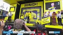 Tour de France : le coup de fatigue de Julian Alaphilippe