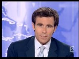France 2 - 26 Juin 2006 - Teaser, JT 20H (David Pujadas), jingle pub