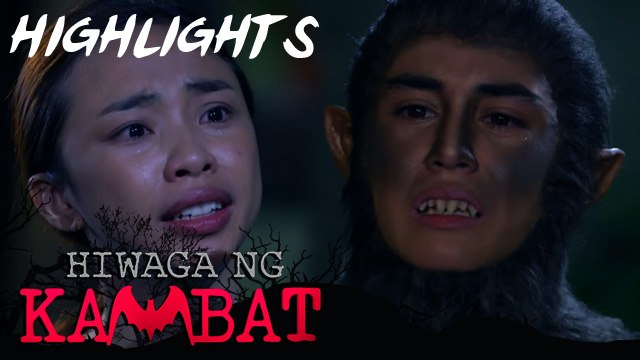 Sarah gets emotional with Iking's situation   Hiwaga Ng KabmbatSarah gets emotional with Iking's situation   Hiwaga Ng Kabmbat