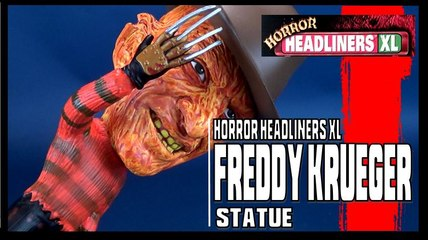 Equity Horror Headliners XL A Nightmare on Elm Street Freddy Krueger Statue Review