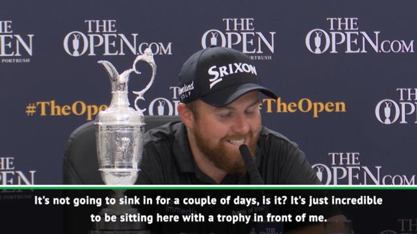 Lowry 'can't believe' Open triumph