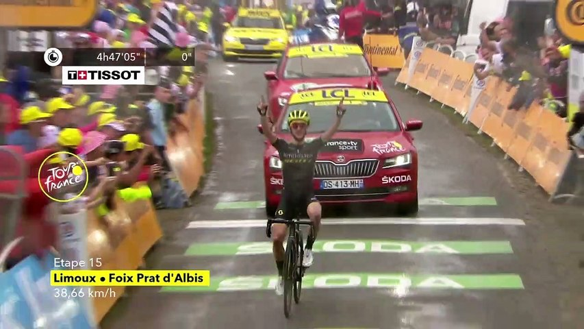 Eng VO: Yates comes out on top as Alaphilippe loses time on rivals