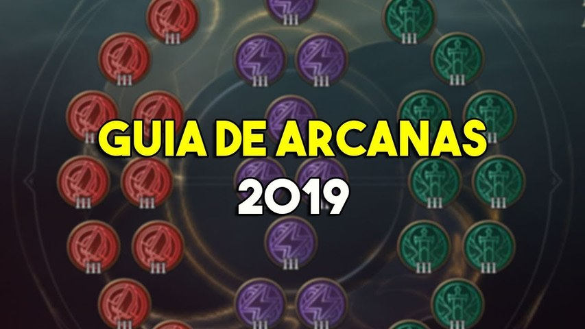 Guia de Arcanas 2019 - Arena of Valor