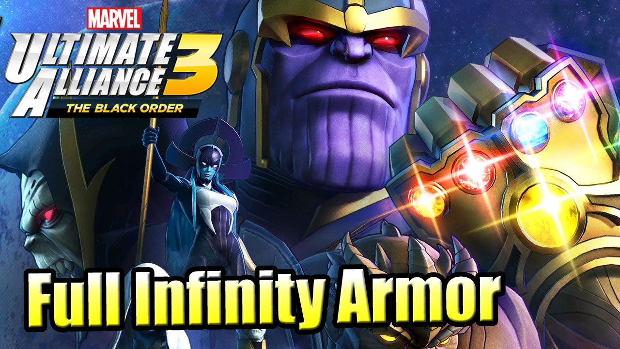 Marvel Ultimate Alliance 3 Black Order Walkthrough Part 18 - Ending Thanos  and Infinity Armor