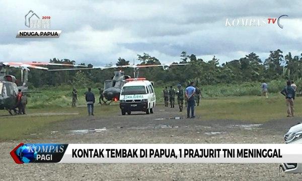 Kelompok Bersenjata Kembali Serang TNI di Papua, 1 Personel Gugur Tertembak