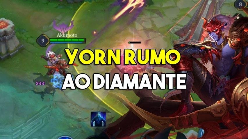 De Yorn Rumo ao diamante- - Arena of Valor