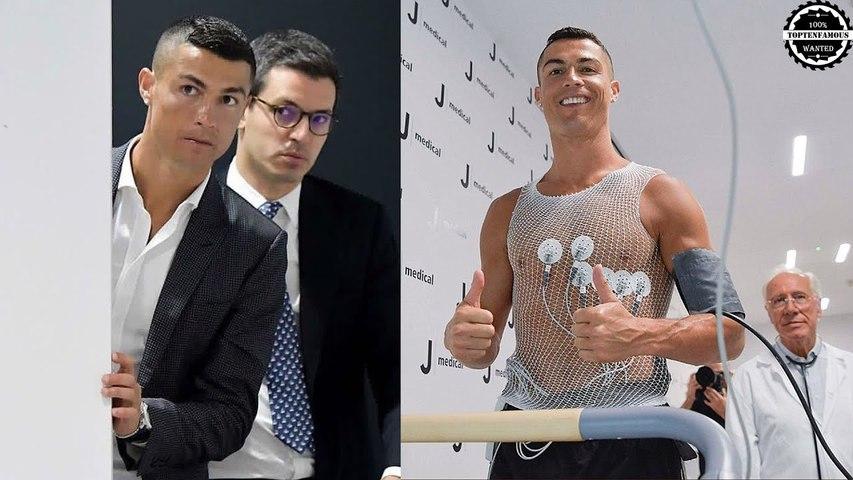 Cristiano Ronaldo after come to Juventus