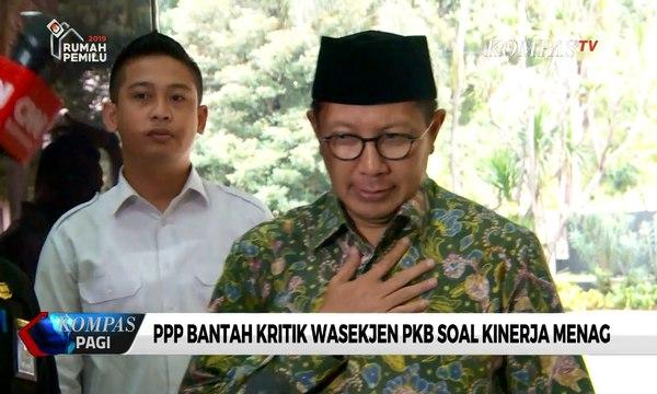 PPP Bantah Kritik Wasekjen PKB Soal Kinerja Menag Lukman yang Gagal