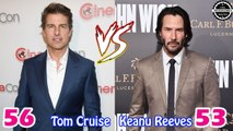 Tom Cruise vs Keanu Reeves Transformation ★ Who is Better?