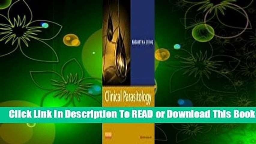 Online Clinical Parasitology: A Practical Approach  For Full