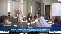 Sinead Mangan Kunjungi Kantor Metro TV