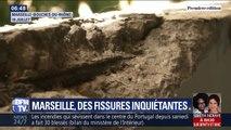 À Marseille, des fissures impressionnantes sur des balcons inquiètent les habitants