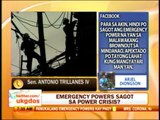Punto por Punto: Emergency powers kay PNoy?