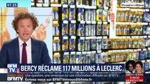 Bercy réclame 117 millions à Leclerc