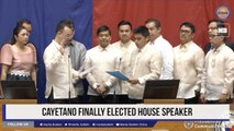 Cayetano finally elected House Speaker