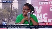 """""""Il ne faut pas se rouler dans la fange avec ceux qui s'y complaisent."""" Sibeth Ndiaye répond aux propos racistes de Nadine Morano"""