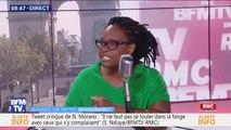 """Sibeth Ndiaye: """"On reproche à des supporters d'avoir fêté l'Algérie, mais c'est une manifestation de joie assez naturelle"""""""