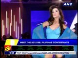 Bb. Pilipinas contestants presented to the press
