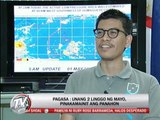 PAGASA: Rains expected before month's end