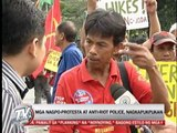 Protesters, cops clash during transport strike