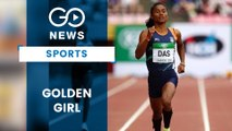Hima Das Wins 5th Gold