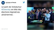Ukraine. Le parti du président Zelensky remporterait la majorité absolue au Parlement