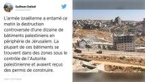 Israël entreprend la démolition de maisons en limite de Jérusalem