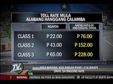 SLEX toll hike awaits regulators' nod
