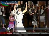 MJ fans dance 'Thriller' to recall