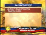 PNP gives safety tips for Undas