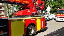 Exercice de pompiers en cours à l'hôpital de Pont-à-Mousson
