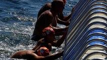 Sul Bosforo la gara di nuoto intercontinentale