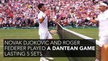 The Wimbledon 2019 final gave us one of the biggest moments in the history of tennis