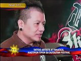 Artists, fans flock tattoo festival