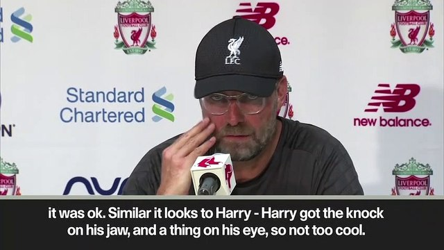 (Subtitled) 'Too early in the season to say what I think' Klopp on  Yasser Larouci's injury