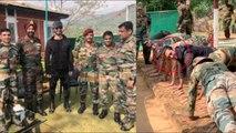 Vidyut Jamwal Push-Ups CHALLENGE to INDIAN ARMY COMMANDOS