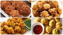 7 Best Monsoon Snacks - Quick And Easy Monsoon Special Recipes - Monsoon Special Pakoras