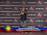 Aspiring singers strut wares in ABS-CBN audition(Lite wrap)