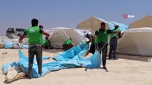 - İHH ve BM'den İdlib'e Yeni Kamp- İHH İnsani Yardım Vakfı İle Birleşmiş Milletler Tarafından Suriye'nin İdlib Kırsalındaki Tur Laha Köyüne 400 Çadırlık Yeni Bir Kamp Kuruldu